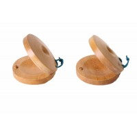 CASTANETS - WOODEN - A DOZEN PAIRS OF CASTANETS
