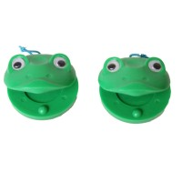 CASTANETS - FROG  STYLE (PAIR)
