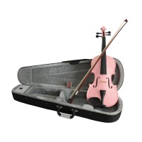 VIOLIN - 3/4 SIZE - PINK - WOW YOUR FRIENDS