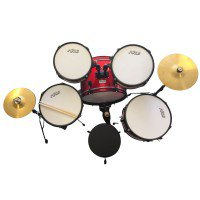 JUNIOR (KIDS) DRUM KIT 5 PC WITH THRONE