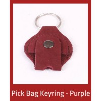 ALWAYS HAVE YOUR PICKS WITH YOU - PICK BAG KEYRING