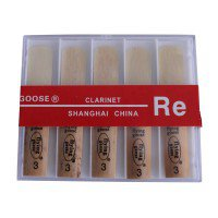 REEDS (10) FOR CLARINET - 3.0'S Clarinets