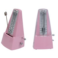 METRONOME  WITH METAL MECHANISM - PINK ***NEW***