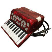 PIANO ACCORDION - 8 Bass, 22 Key