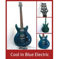ELECTRIC GUITAR - MAPLE & MAHOGANY - BLUE Guitars