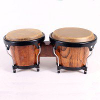 """BONGO - TWO - 6"""" & 7"""" - NATURAL Other Percussion Instruments"""