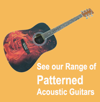 Patterned guitars