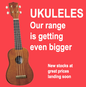 Ukuleles more to come